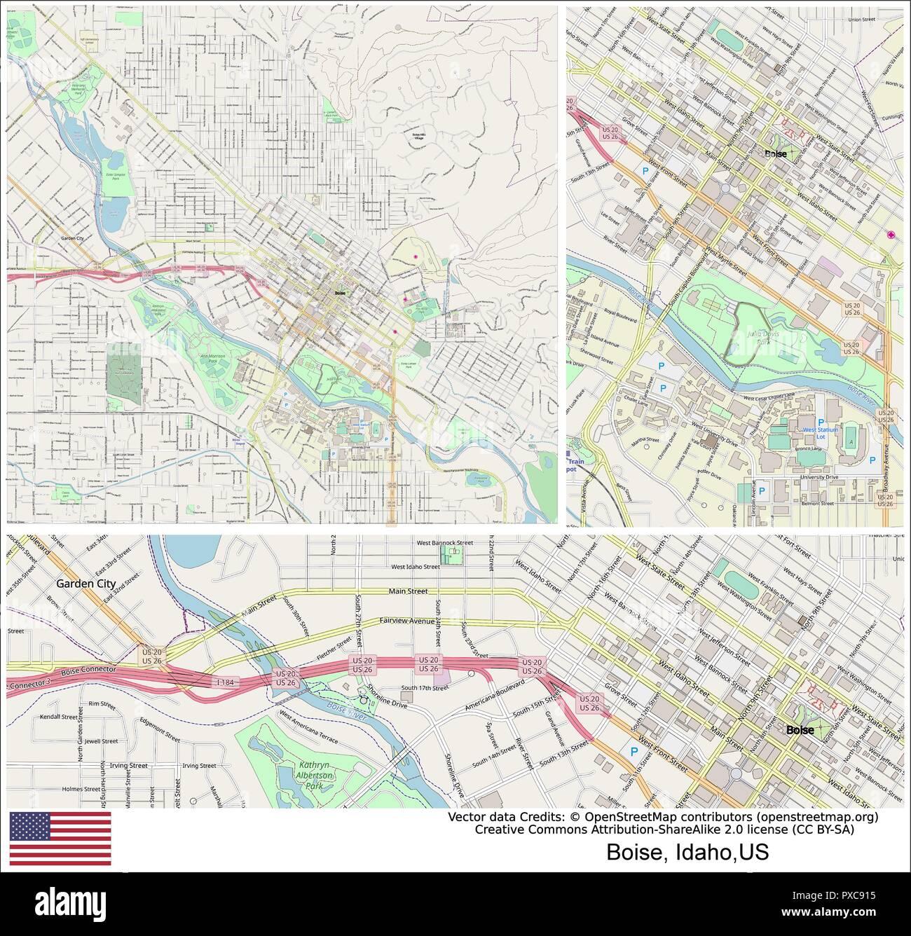 Boise, Idaho, USA, Ada County, Boise, Boise, Nampa, Meridian, Boise on