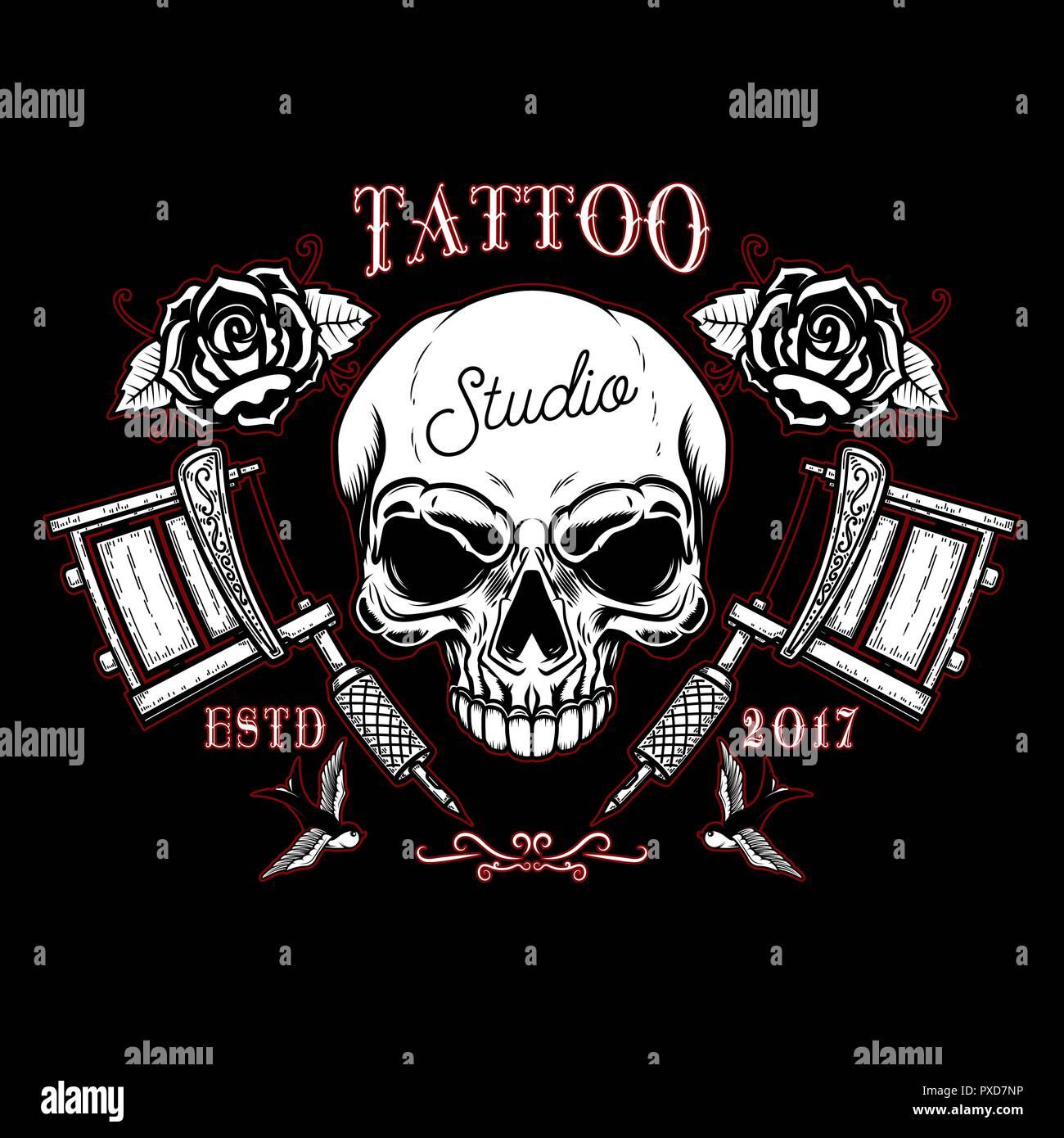 Totenkopf tattoo vorlage