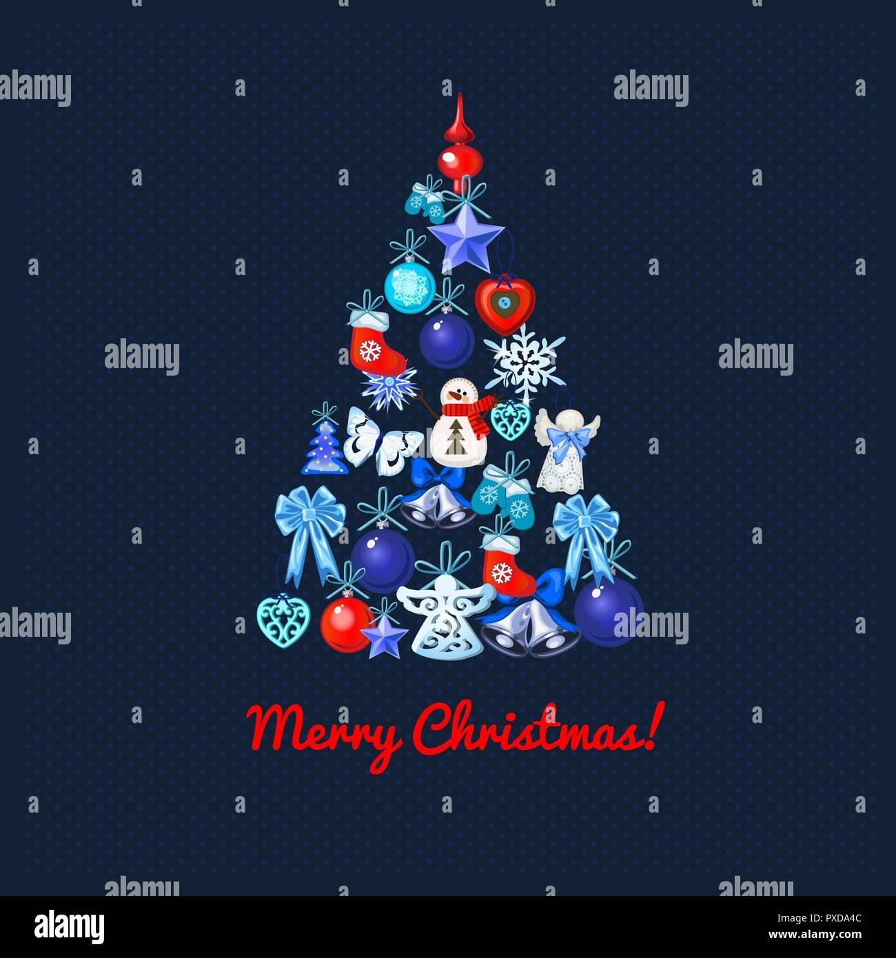 Cartoon Illustration Words Merry Christmas Stockfotos & Cartoon ...