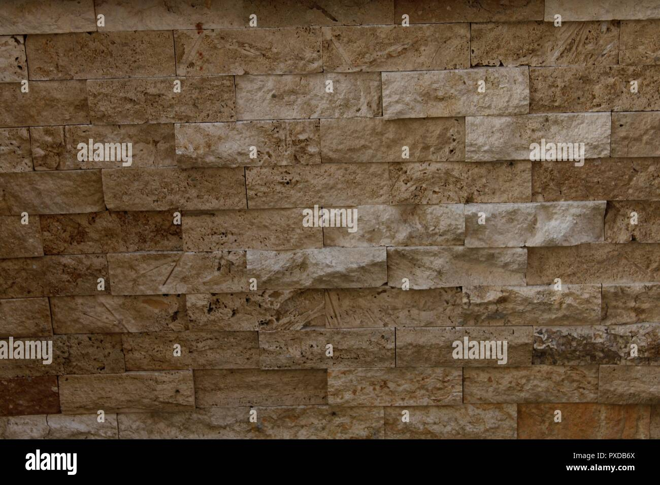 Bekannt Kunststoff Wand deckt wie Stein Stein Stockfoto, Bild: 222799666 DD08