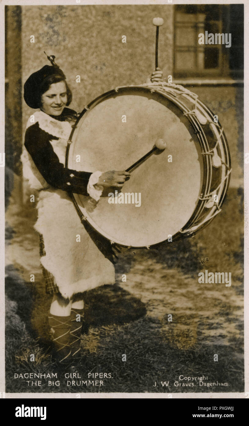 Ding-Ludwig drums Abzeichen