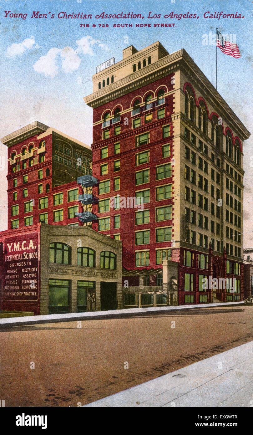 YMCA (Young Men's Christian Association), Los Angeles, Kalifornien, USA Datum: 1920 Stockfoto
