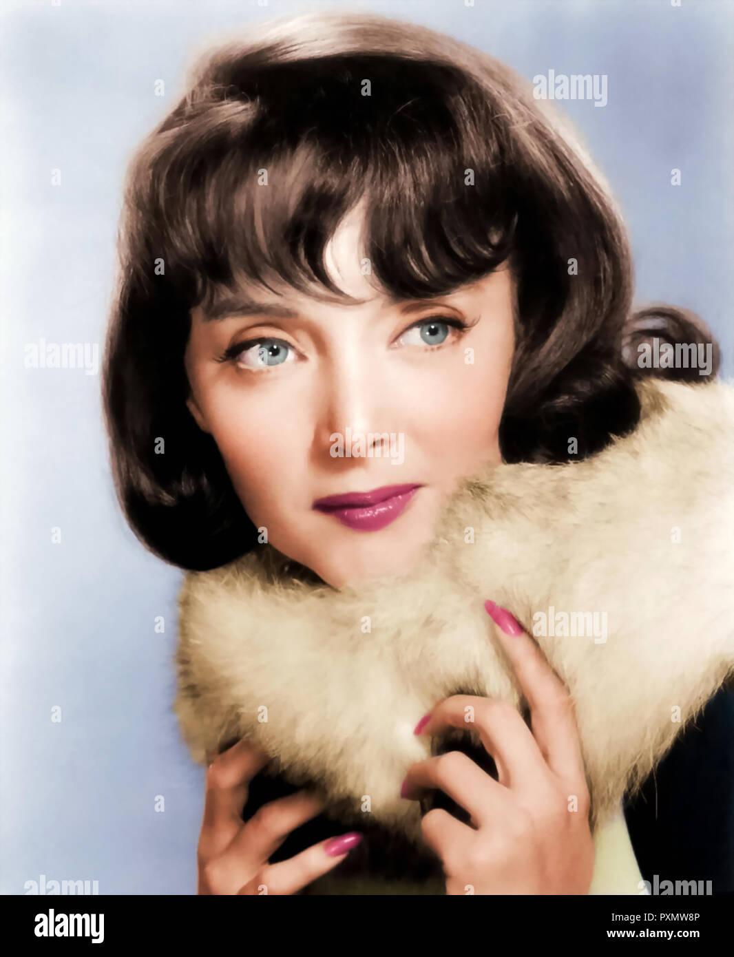 CAROLYN JONES (1930-1983), US-amerikanische Schauspielerin ungefähr 1955 Stockbild