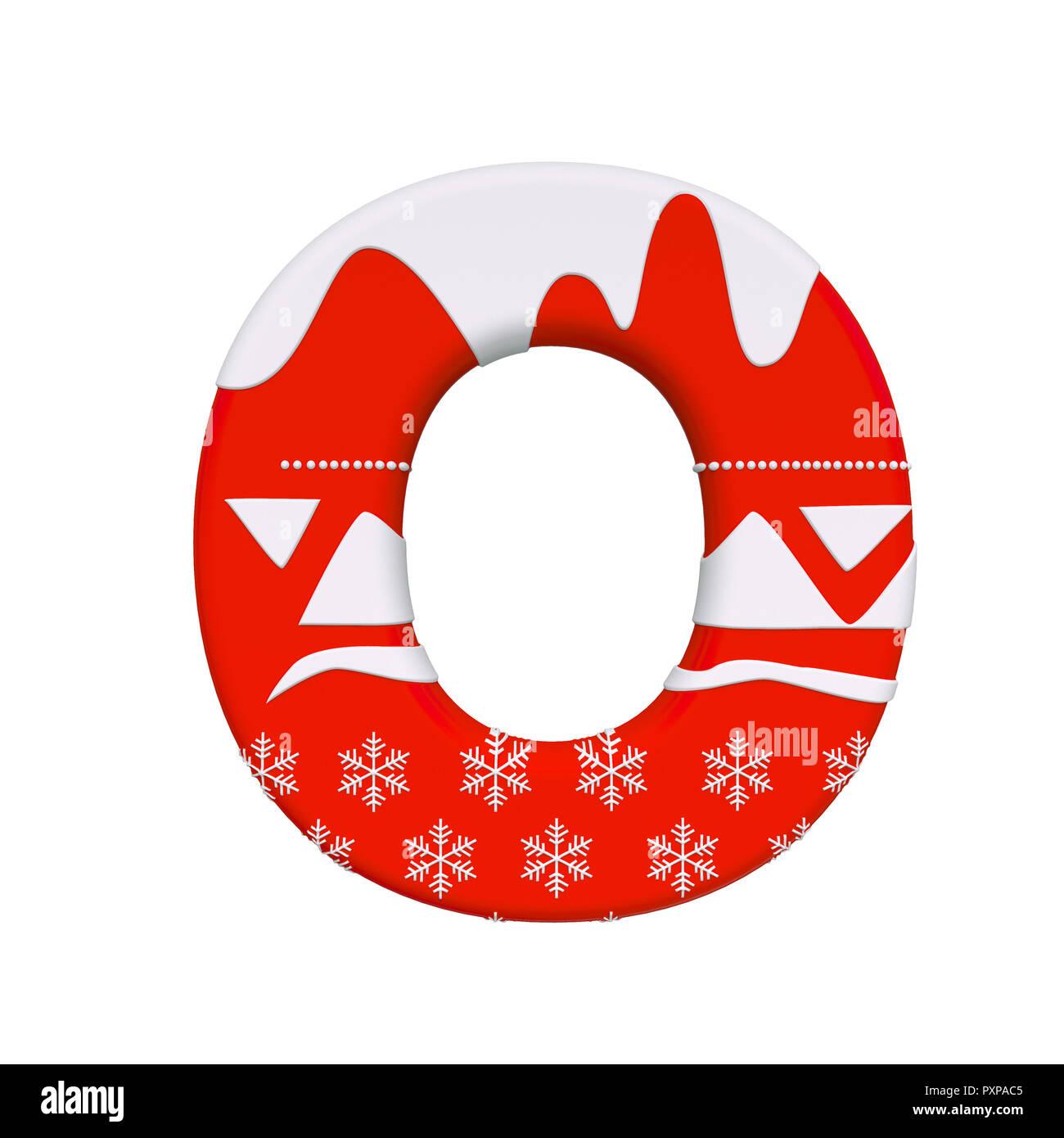 Weihnachten schreiben O-upper-case 3d Santa Weihnachten Schrift auf ...