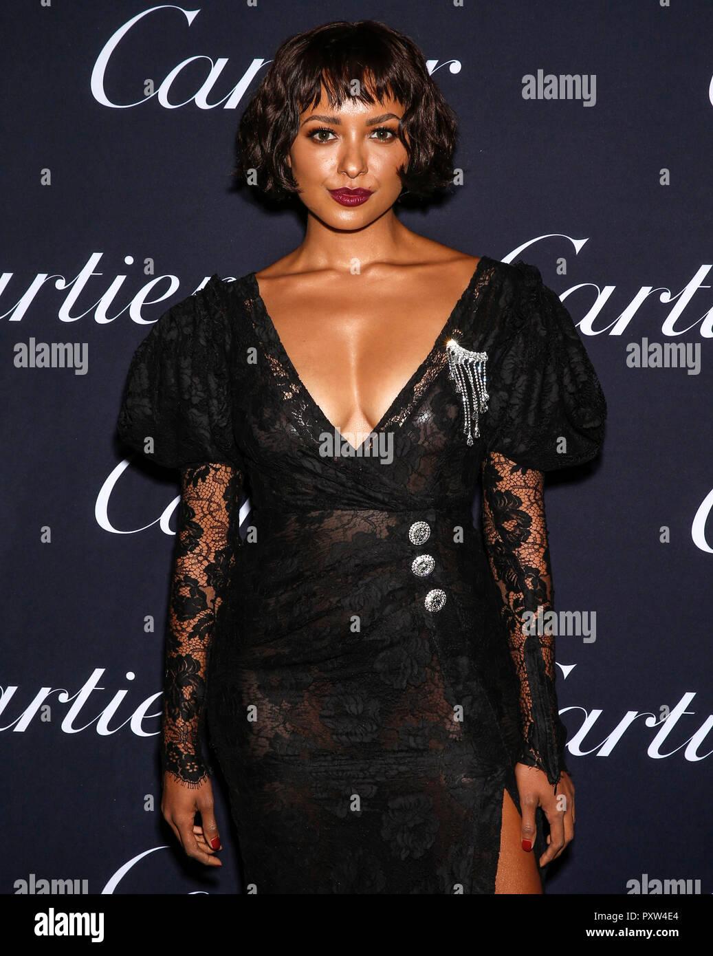 New York, NY-September 06, 2018: Taylor LaShae 2018 Cartier ...