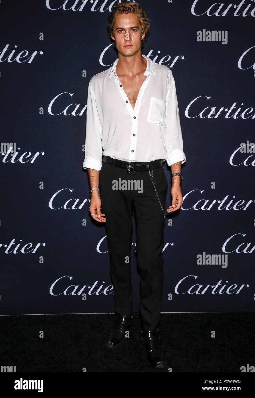 New York, NY-September 06, 2018: Neels Visser 2018 Cartier kostbare ...