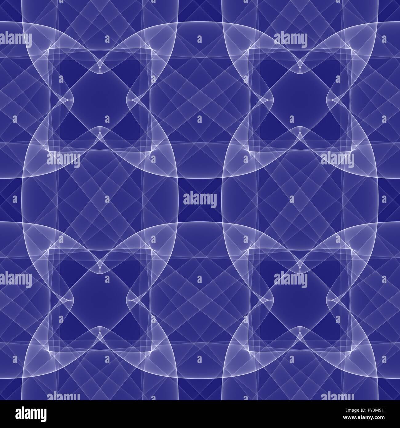 Nahtlose Hintergrund Blaue Tapete Deko Muster Stockfoto Bild