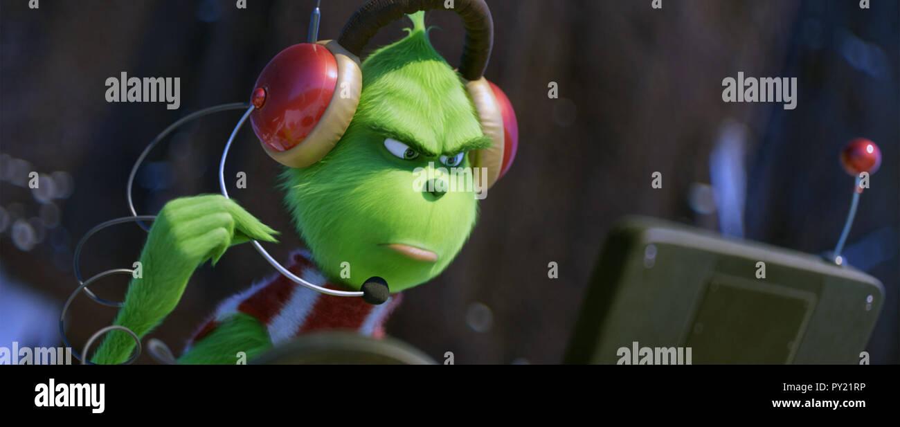 Amerikanische Weihnachtsgrüße.Grinch Stockfotos Grinch Bilder Alamy