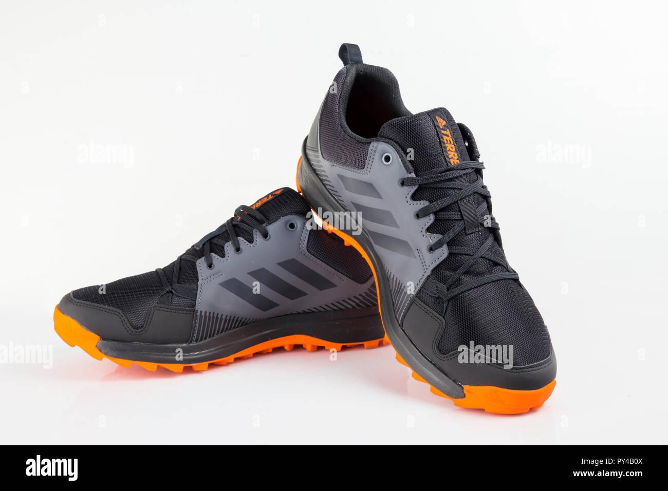 finest selection 6a0a1 96a03 Afife, Portugal - Oktober 24, 2018: adidas Running Schuhe ...