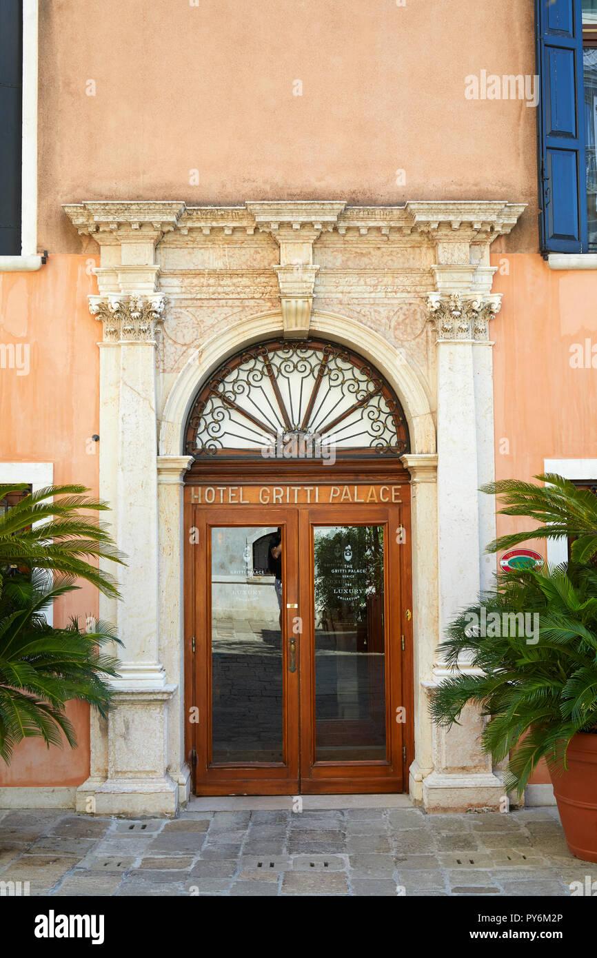 Venedig Italien 14 August 2017 Beruhmten Gritti Palace 5 Sterne