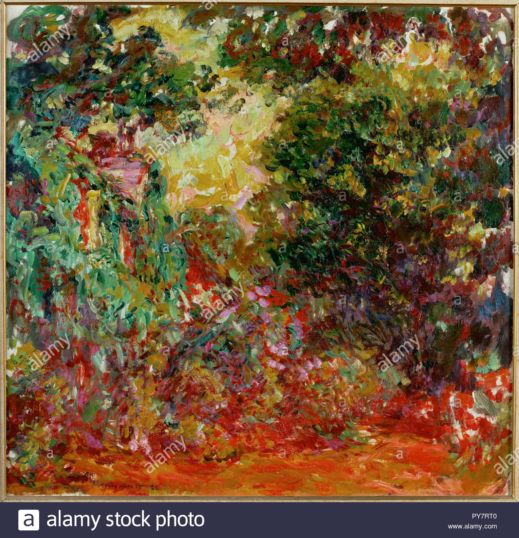 La maison Vu du Jardin aux Roses, 1922-1924 Leinwand 89 x 92 cm Inv ...