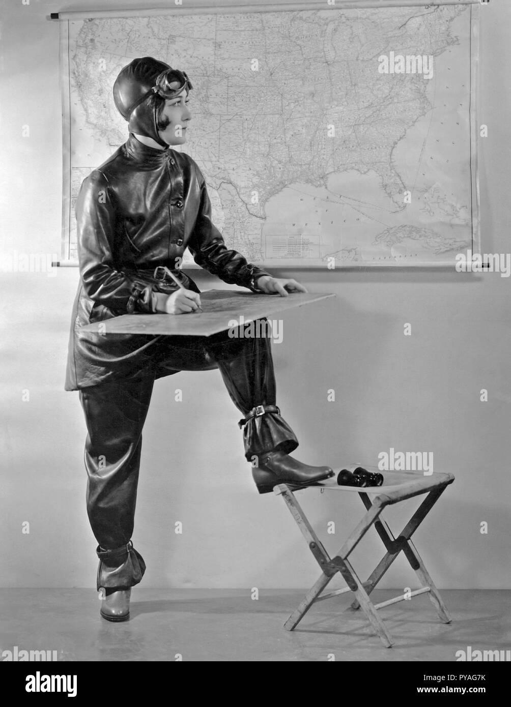 Die amerikanische Schauspielerin in den 1930er Jahren. Die amerikanische Schauspielerin Dorothy Sebastian, 1903-1957. Stockbild