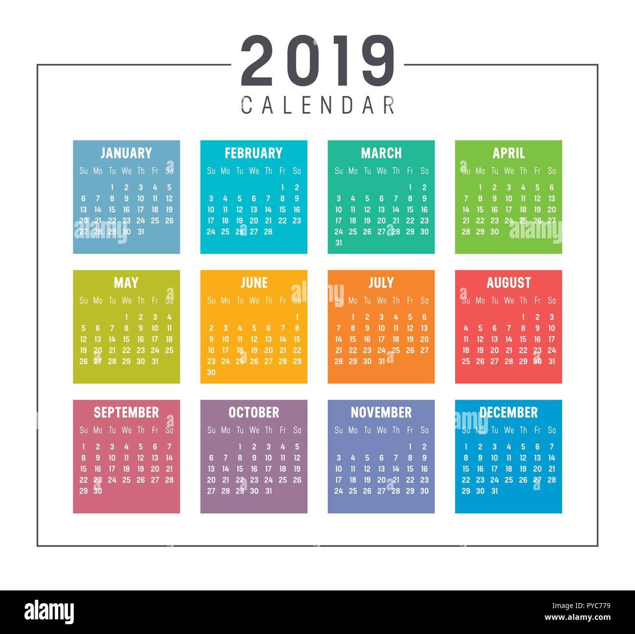 kalender woche 2019