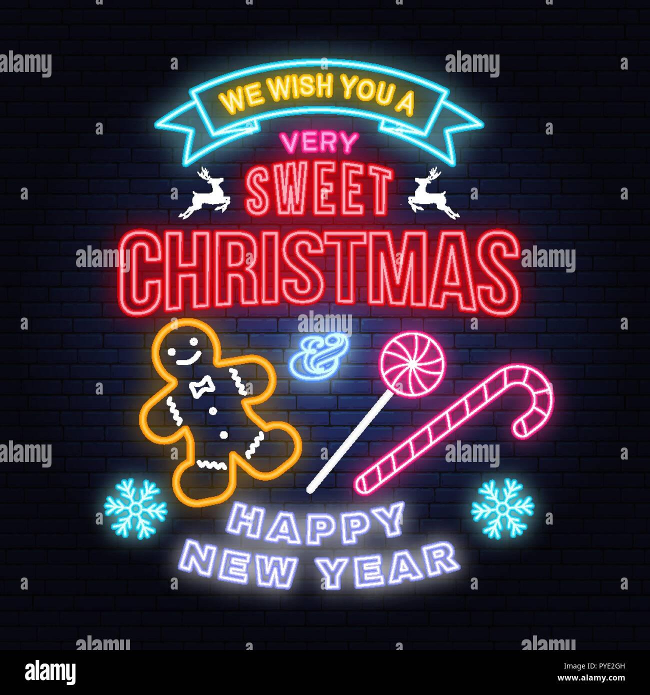Wir wünschen Ihnen eine sehr süße Weihnachten und ein glückliches ...