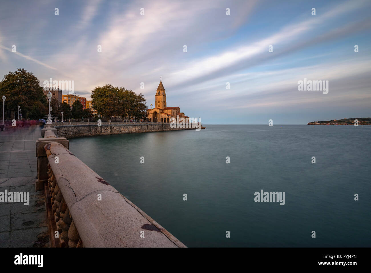 Gijón, Asturien, Spanien, Europa Stockfoto