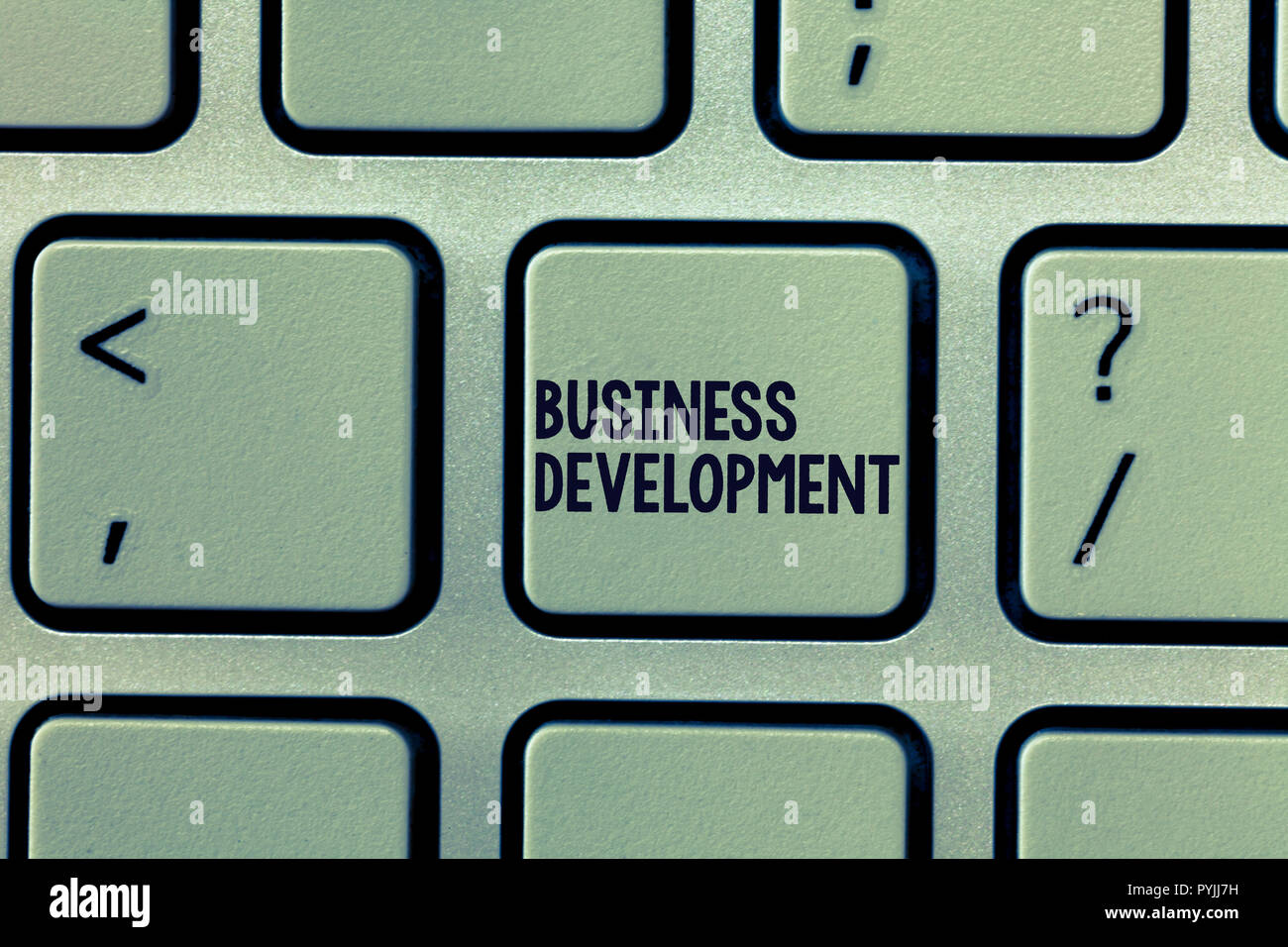 Text Zeichen zeigen, Business Development. Konzeptionelle Foto implementiert werden, um weiteres Wachstum Wert innerhalb und zwischen Unternehmen. Stockfoto