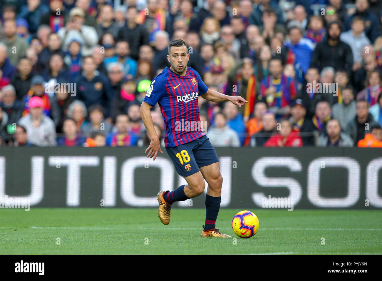 Camp Nou Barcelona Spanien 28 Okt 2018 Liga Fußball Barcelona