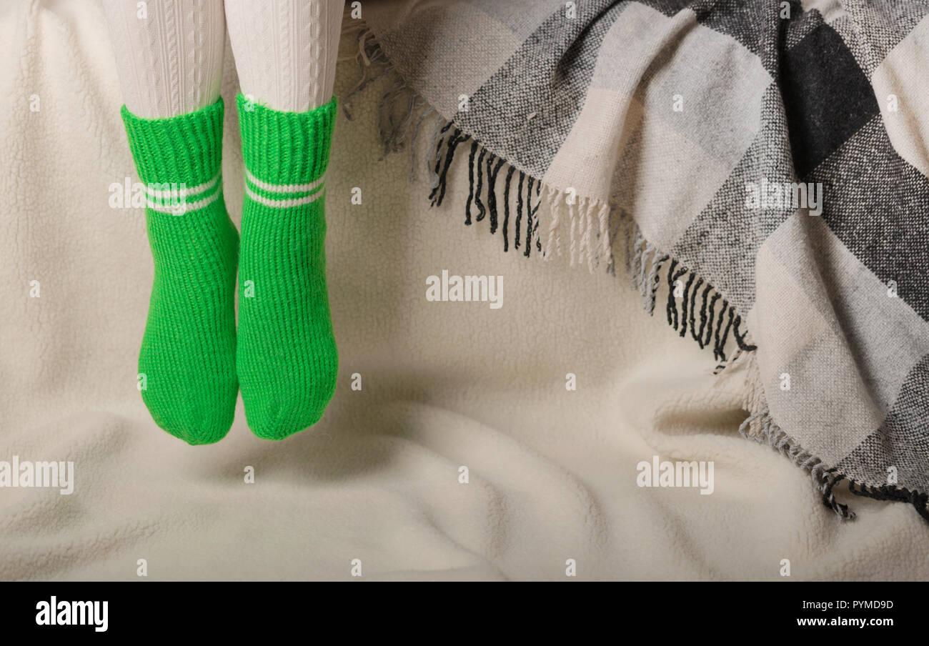 wähle echt neuesten Stil günstigen preis genießen Grüne Socken Stockfotos & Grüne Socken Bilder - Alamy