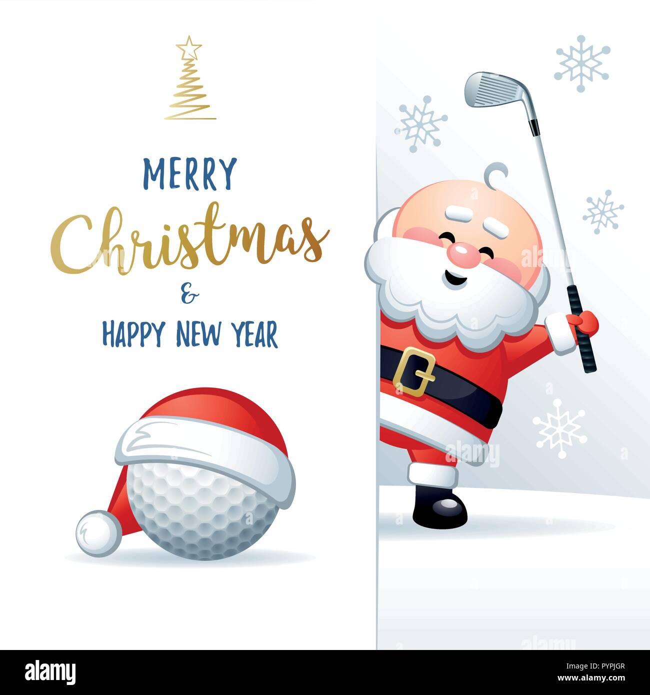 Santa Claus Cartoon Christmas Illustration Stockfotos & Santa Claus ...