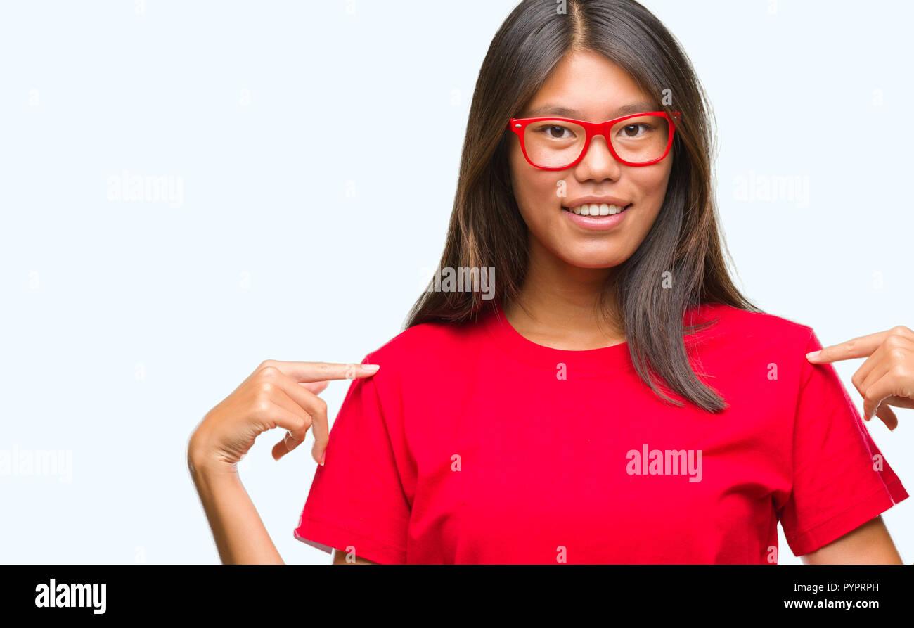 asiatische madchen stolz
