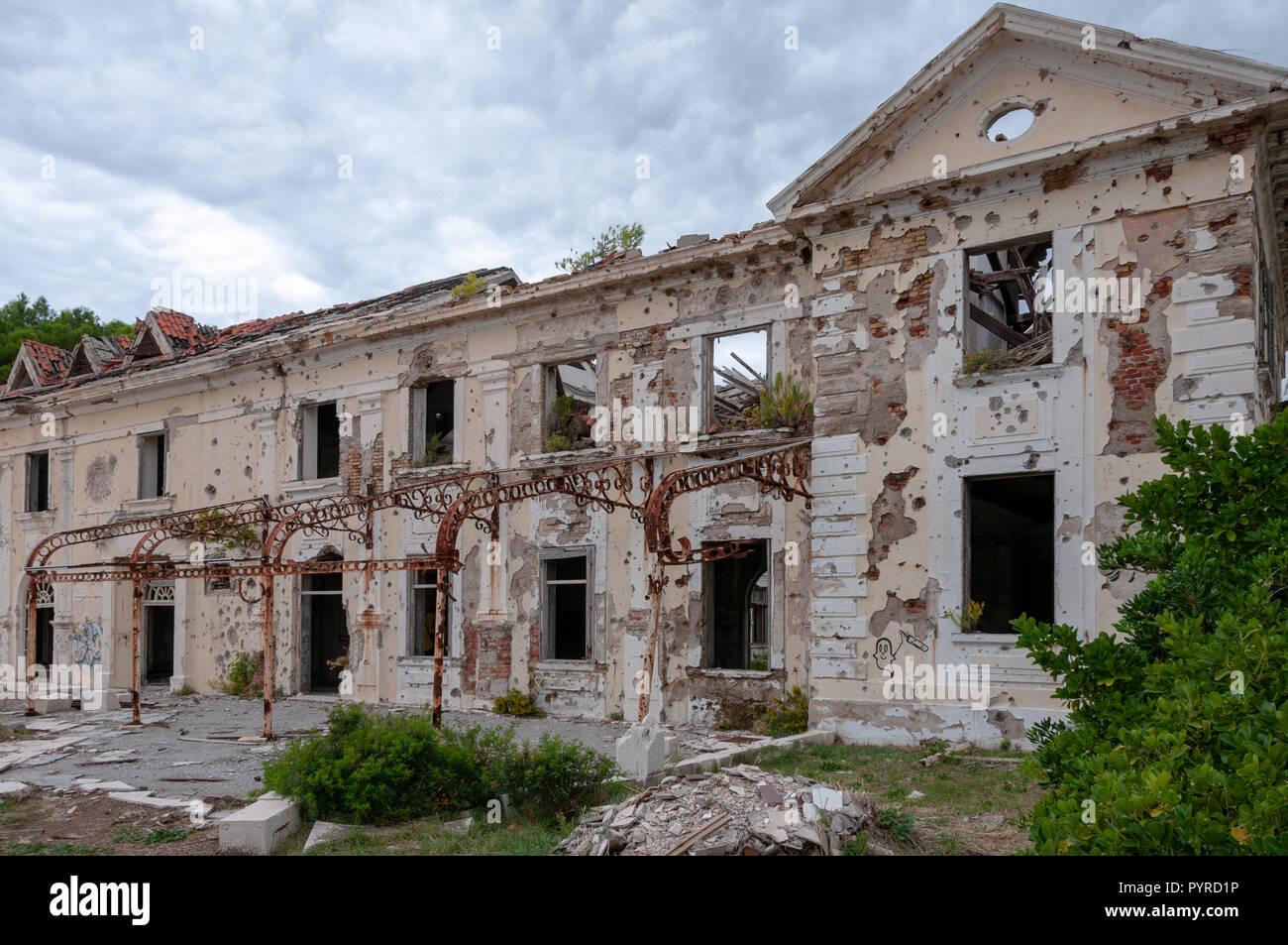 Grand Hotel Kupari Stockfoto Bild 223635266 Alamy