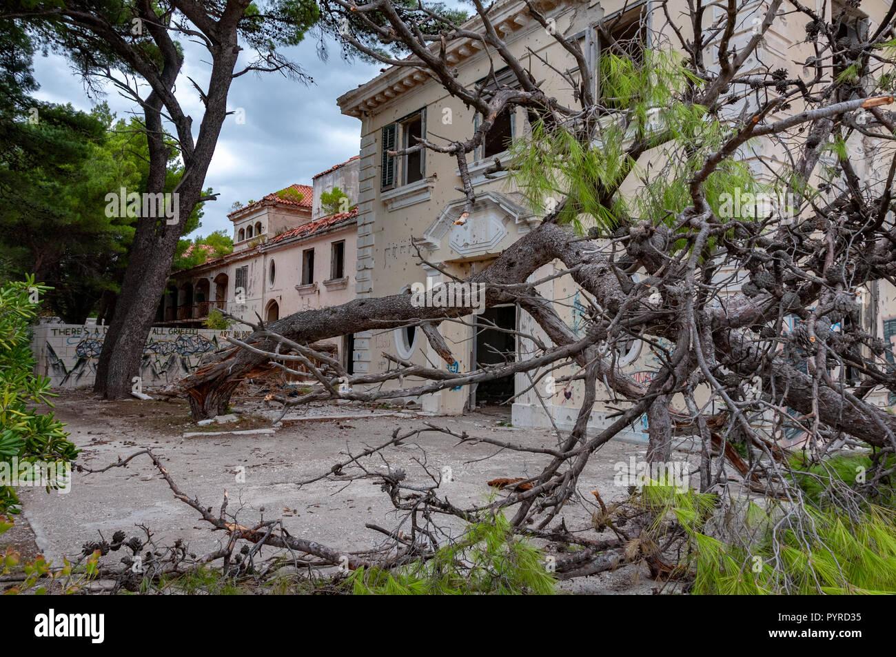 Grand Hotel Kupari Kroatien Stockfoto Bild 223635305 Alamy