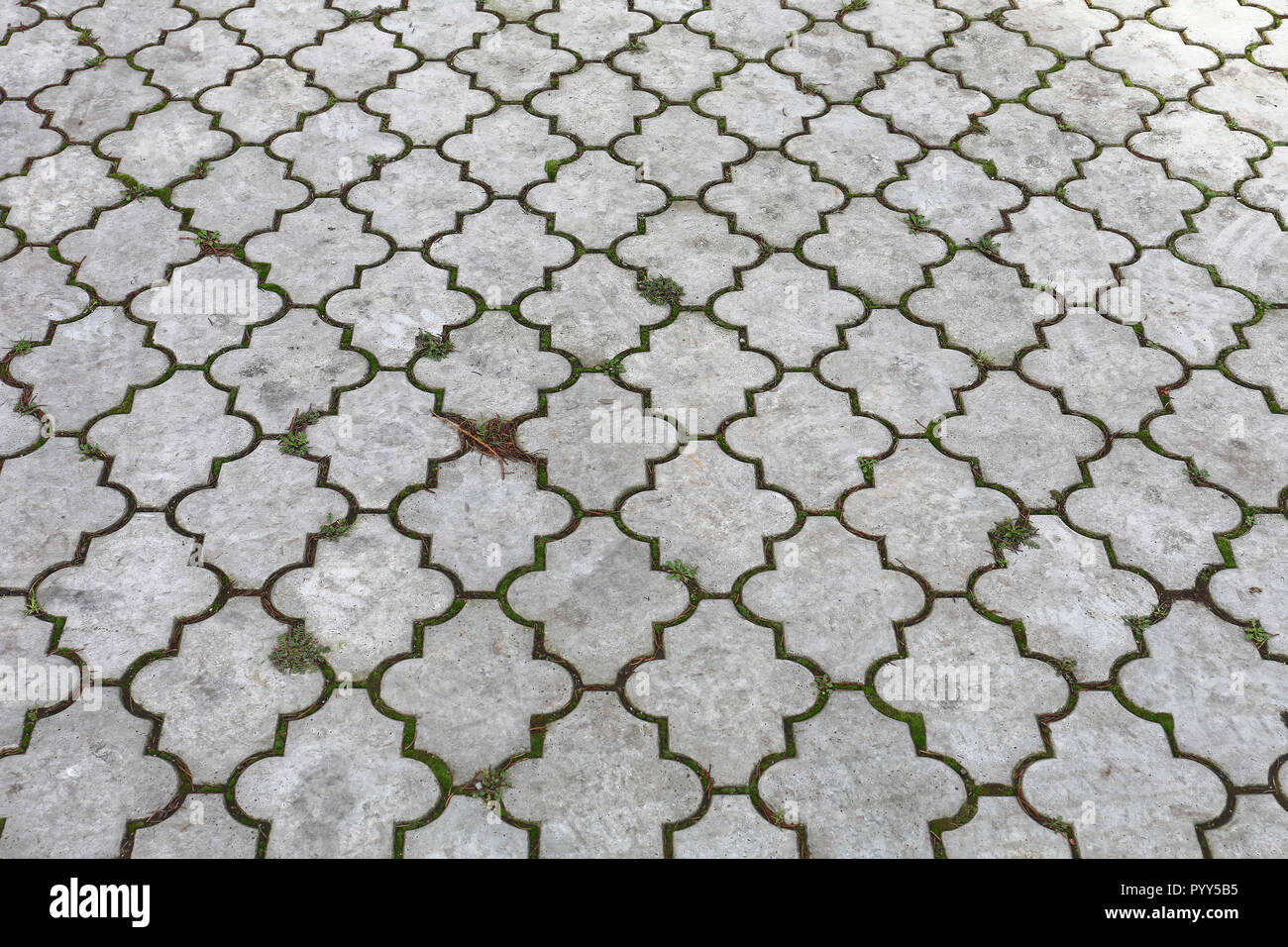 Beton Fliesen Fur Den Aussenbereich Pflaster Textur Stockfoto Bild