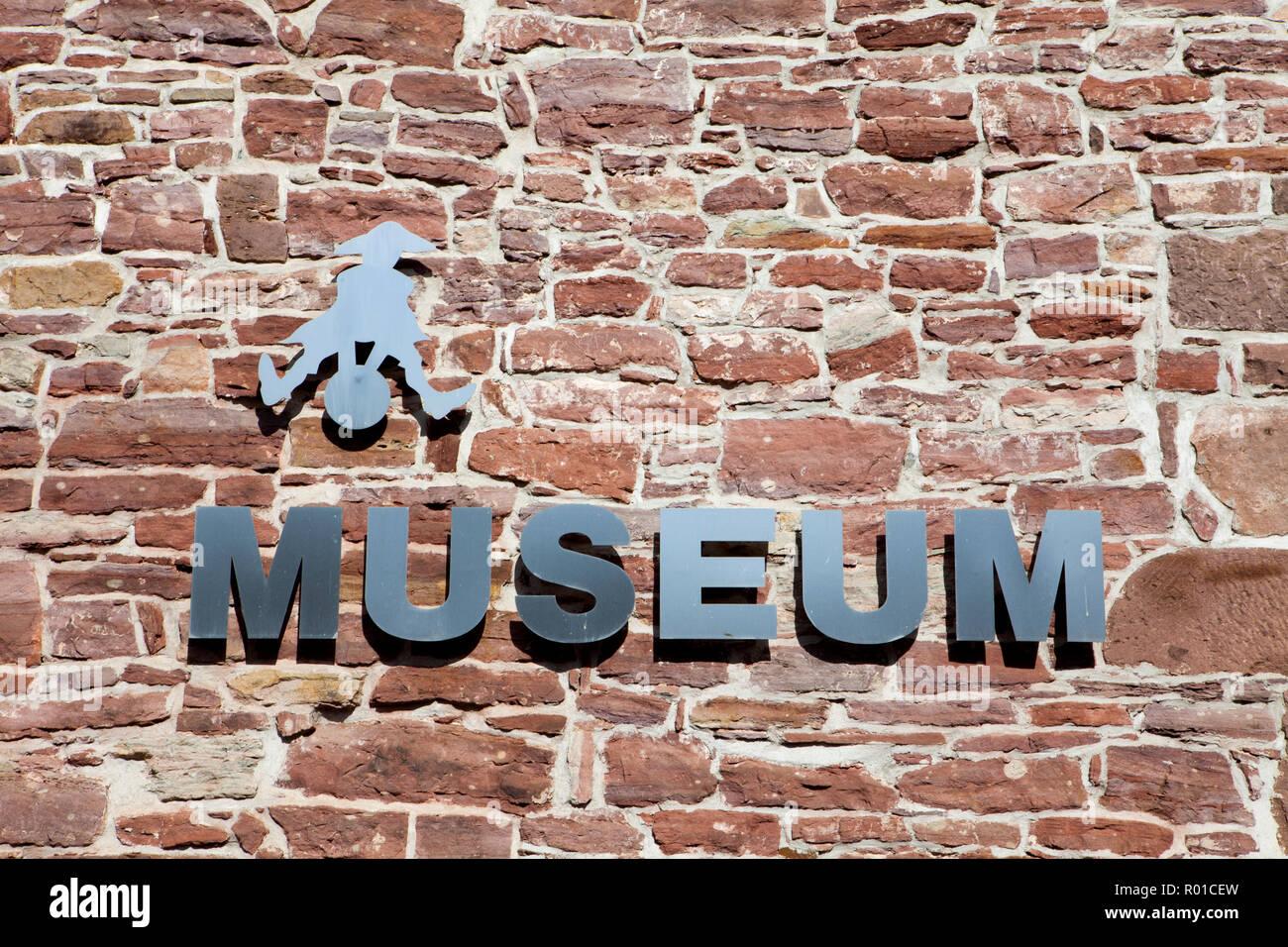 Baron Münchhausen Museum, Bodenwerder, Weserbergland, Niedersachsen, Deutschland, Europa Stockfoto