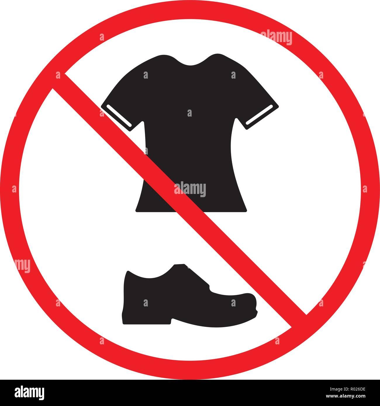 1f2b3f73fe7a9e Keine T-Shirts und Schuhe im Pool erlaubt Vektor Abbildung - Bild ...