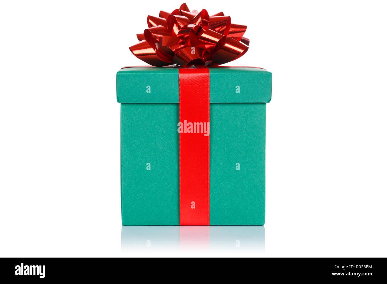 Weihnachten Geburtstag Geschenk Geschenk Hochzeit Dark Green Box Auf