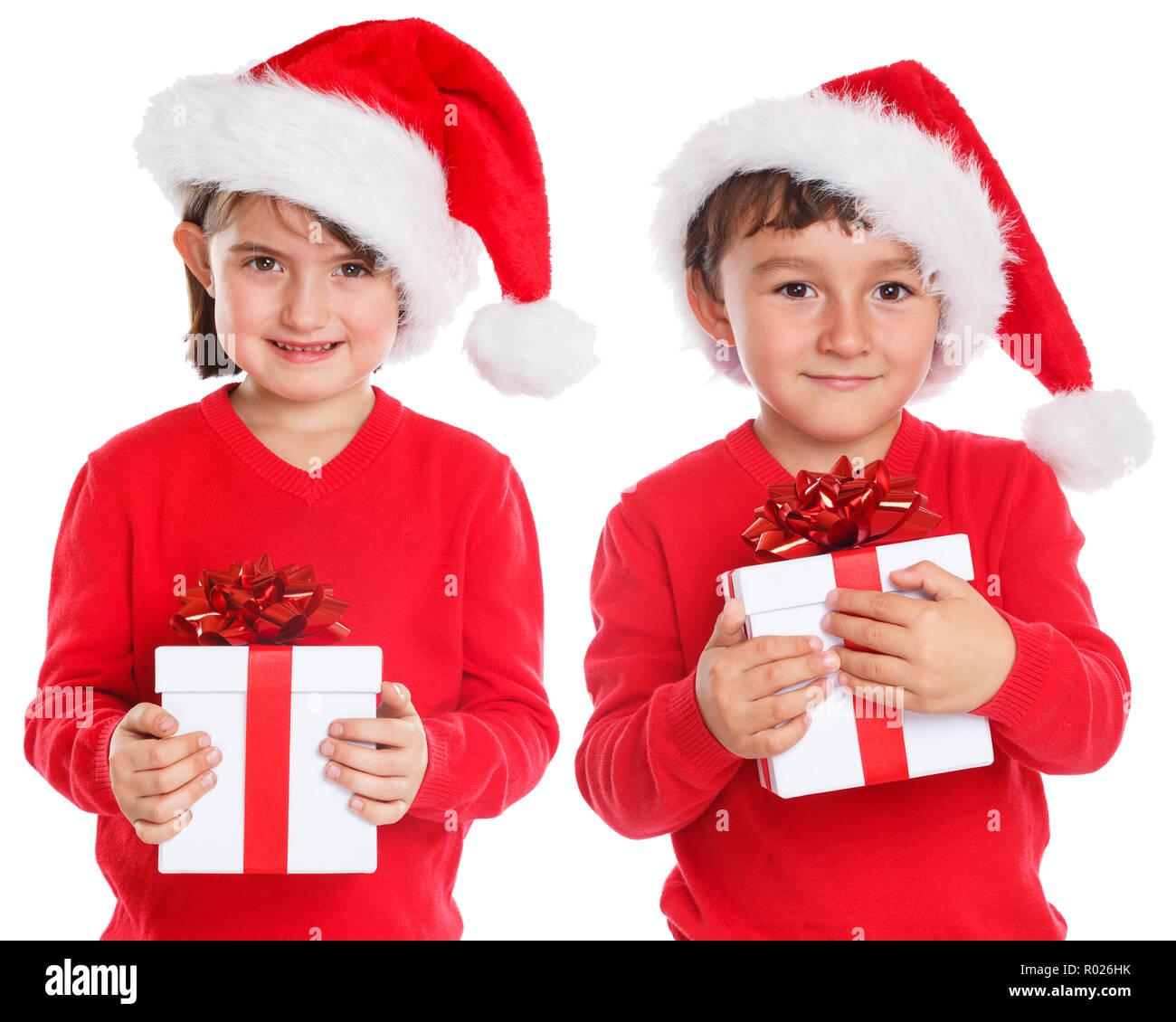 Children Santa Claus Stockfotos & Children Santa Claus Bilder - Alamy
