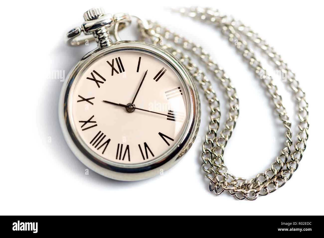 Eine Waltham-Taschenuhr datiert
