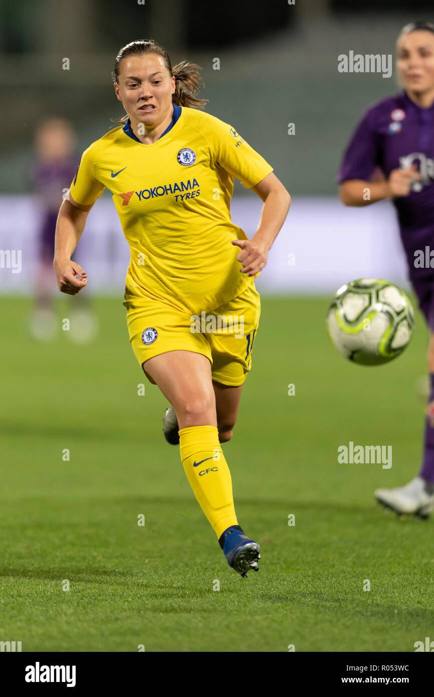 360104a7994c72 Fran Kirby (Chelsea FC Frauen) während der UEFA Women s Champions League  2018 2019 Umlauf von 16 zwischen ...