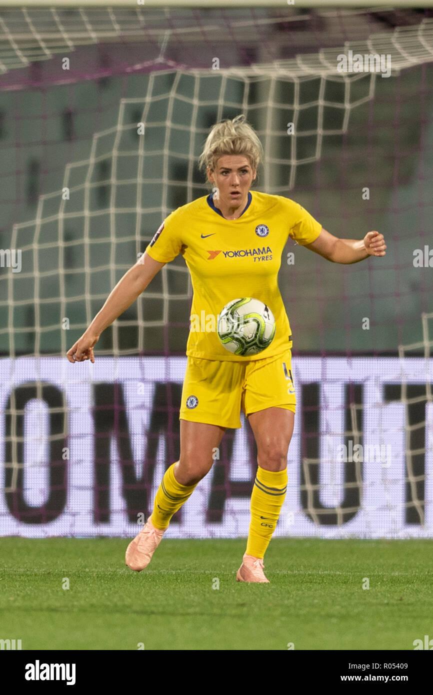 aac9688439ed5c Millie Hell (Chelsea FC Frauen) während der UEFA Champions League 2018-2019  Umlauf von 16 zwischen ...