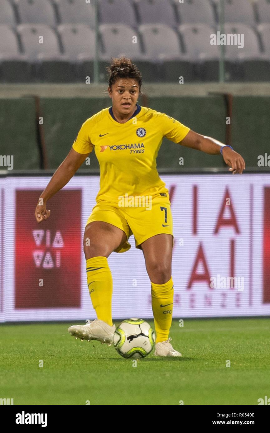 65710ea1949915 Jessica Carter (Chelsea FC Frauen) während der UEFA Champions League 2018-2019  Umlauf von 16 zwischen ...