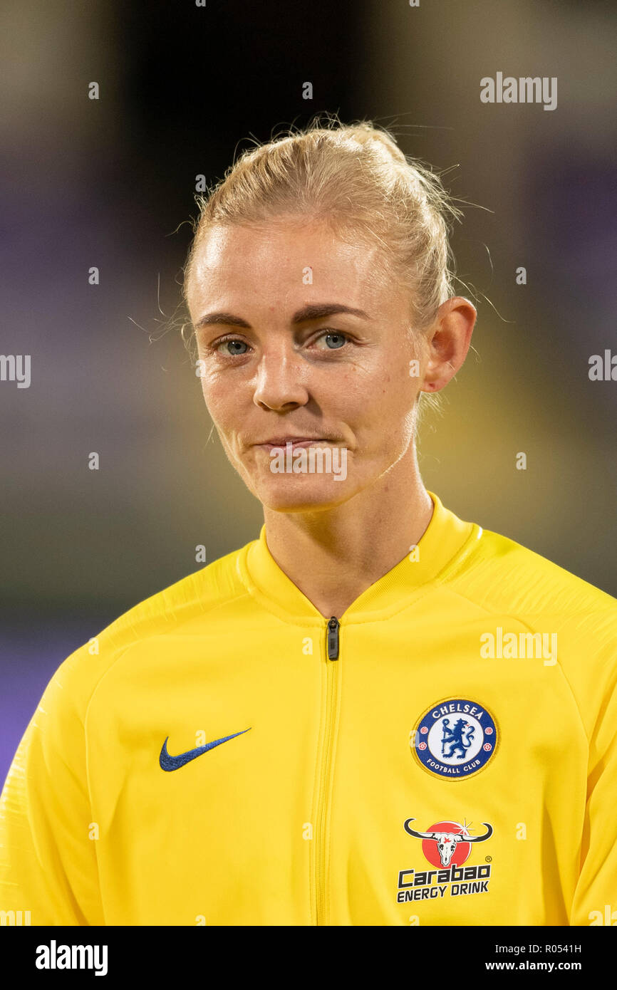 0d865a7286d66a Sophie Single (Chelsea FC Frauen) während der UEFA Champions League 2018-2019  Umlauf von 16 zwischen ...