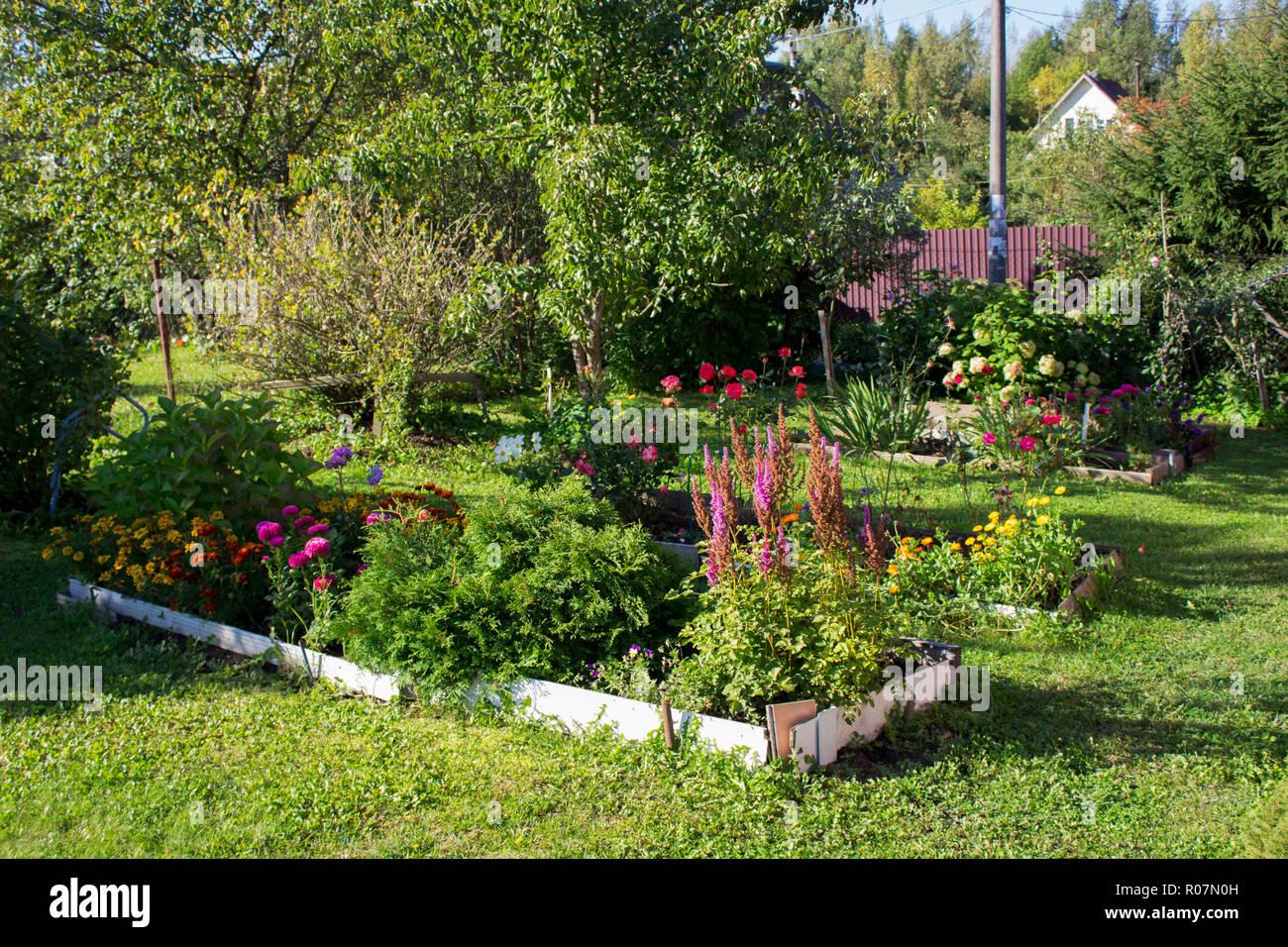 Landschaft Der Bescheidenen Garten Und Landschaftsbau Bereich Der