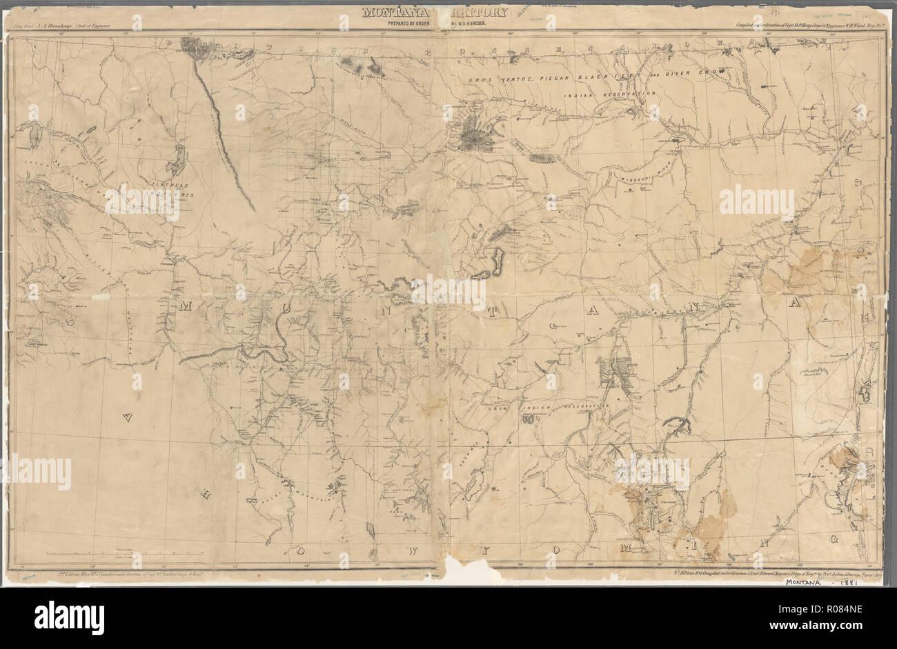 Vintage U S Maps Stockfotos & Vintage U S Maps Bilder - Alamy