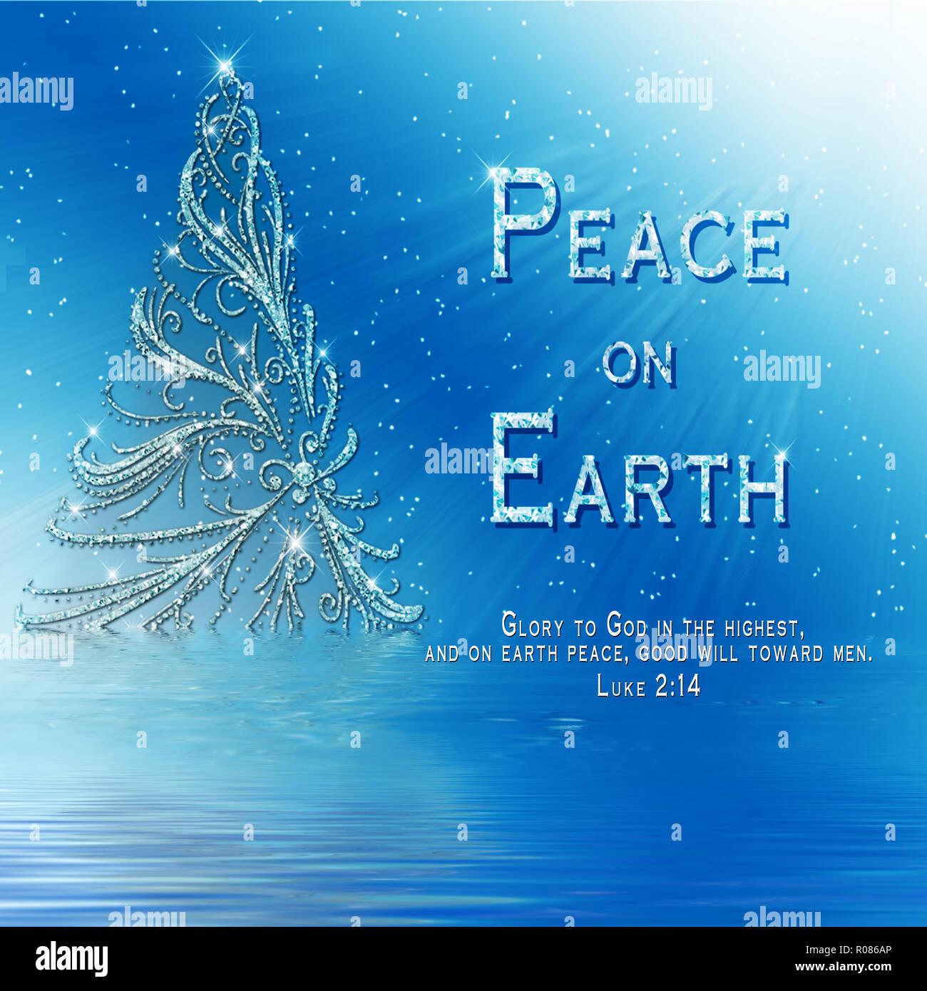 Christliche Bilder Weihnachten.Schöne Christliche Weihnachten Grafik Der Schillernden Baum Auf