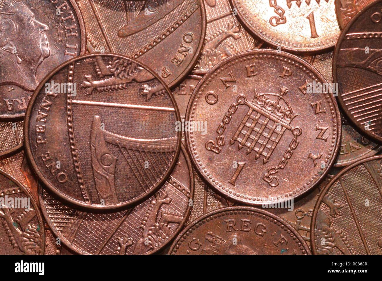 Ein Penny Stuck Stockfotos Ein Penny Stuck Bilder Alamy