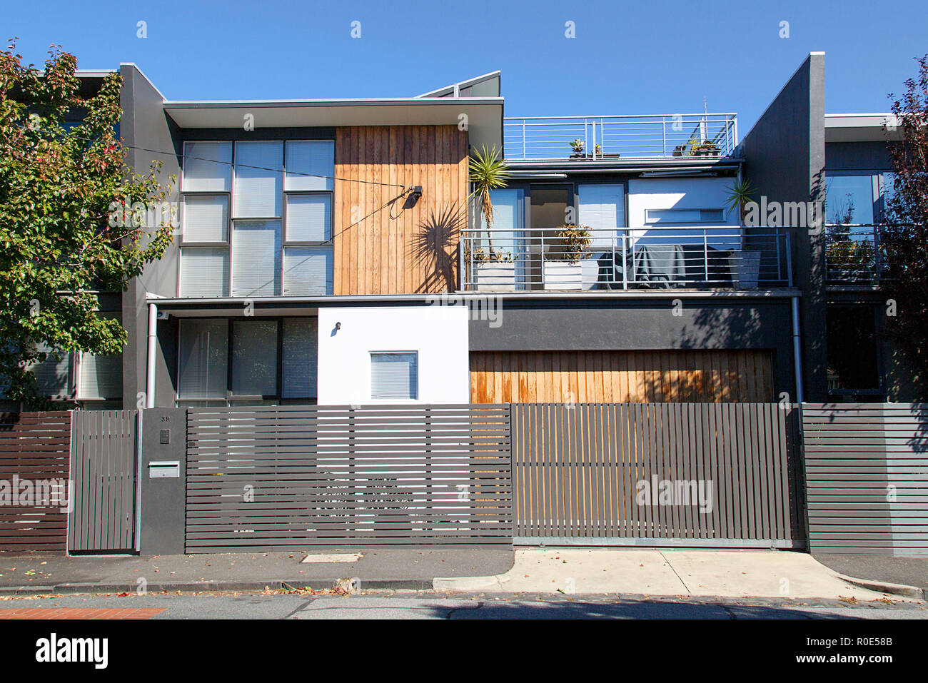 Melbourne Australien 04 April 2018 Modernes Einfamilienhaus In