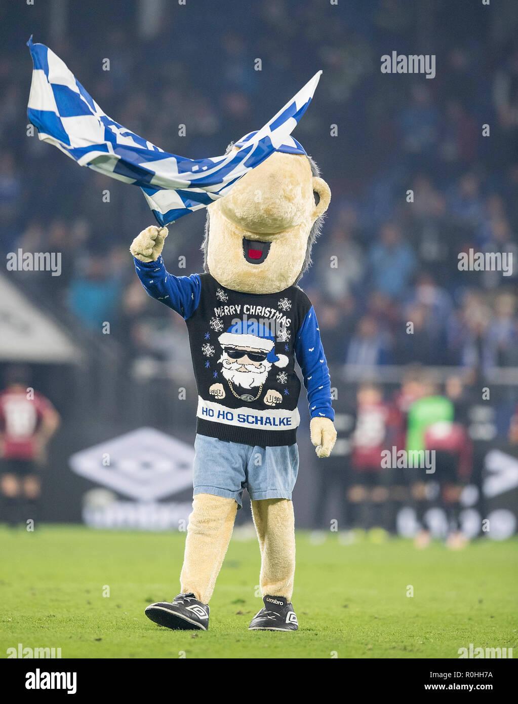Schalke Bilder Weihnachten.Maskottchen Erwin Mit Frohe Weihnachten Jersey Fußball 1