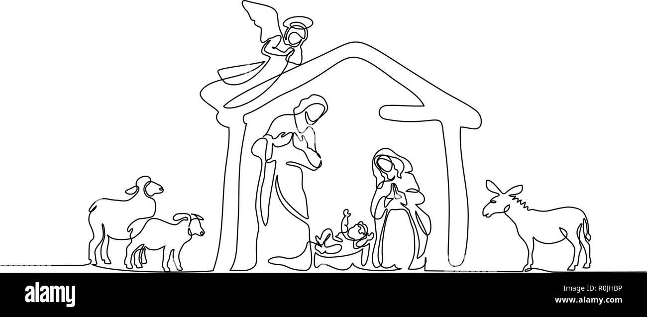 Hand Drawn Illustration Drawing Jesus Stockfotos & Hand Drawn ...