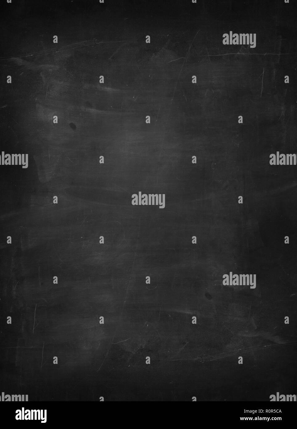 Leere schoolboard Hintergrund Vollbild Textur mit Platz für eigenen Text Stockbild