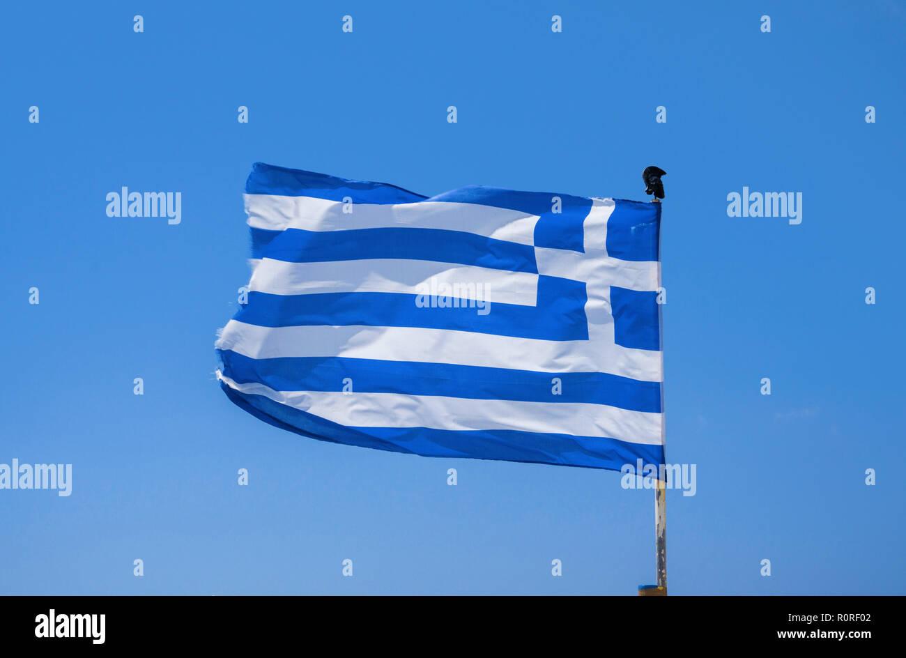 Flagge Griechenland Stockfotos Flagge Griechenland Bilder Alamy