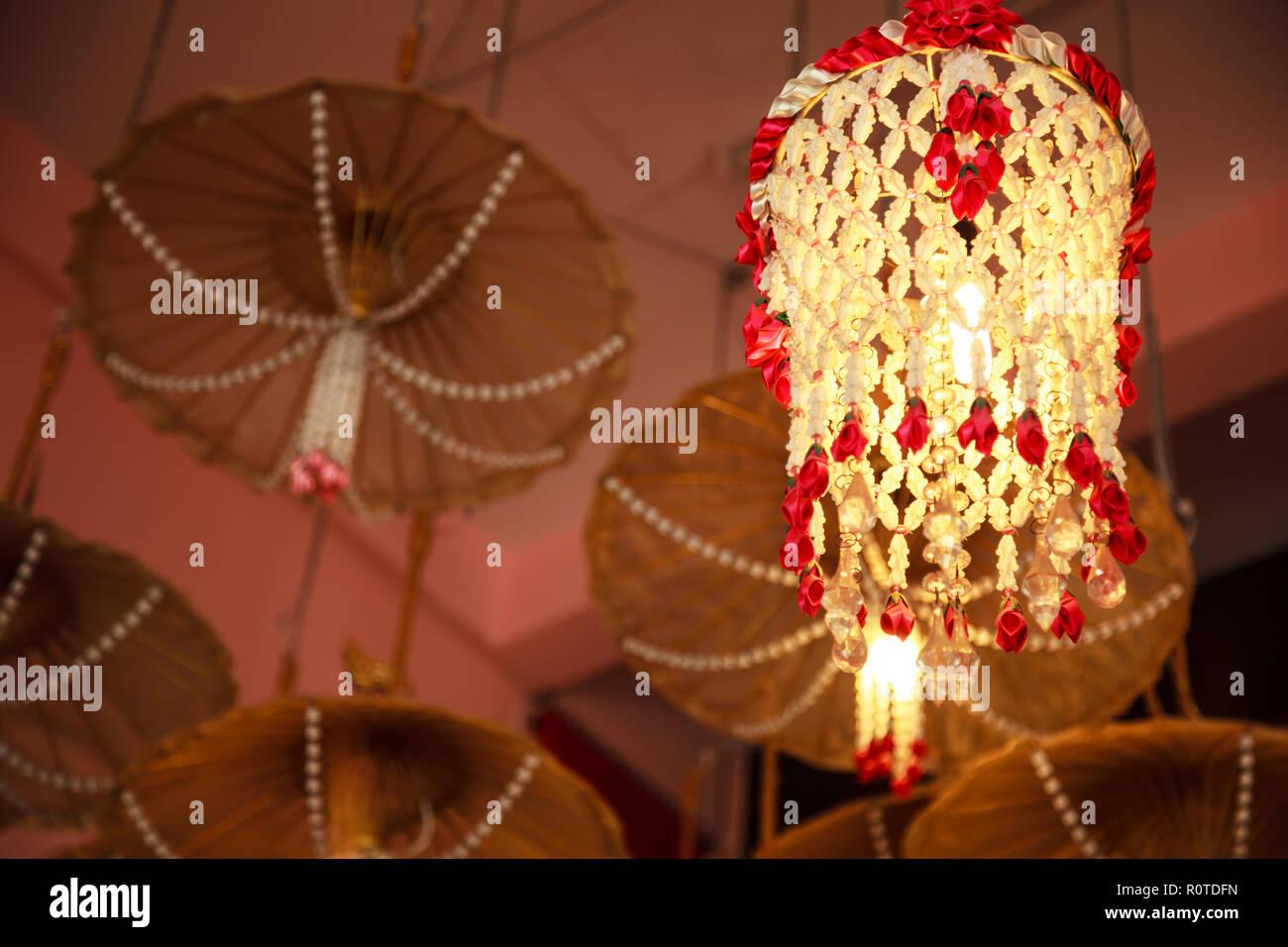 Mobile Girlande Decke Hangende Lampe Dekoration Mobel Mit Holz
