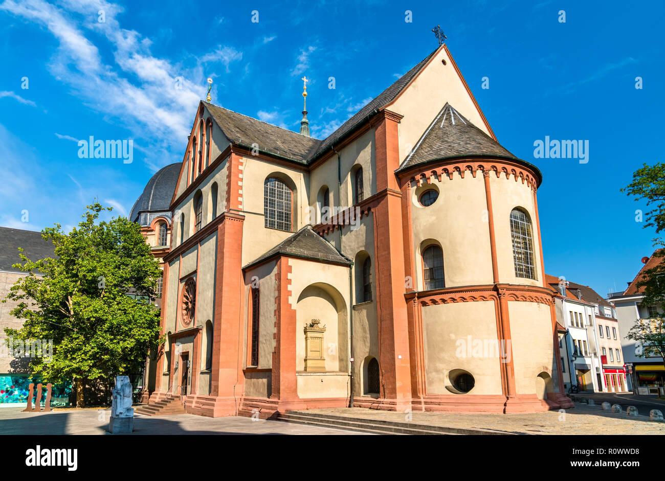 Die neumünster Stiftskirche in Würzburg, Deutschland Stockbild