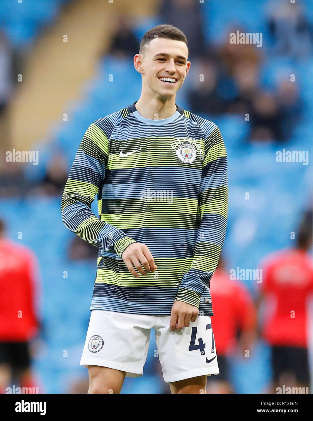 Von Manchester City Phil Foden Stockfotografie - Alamy