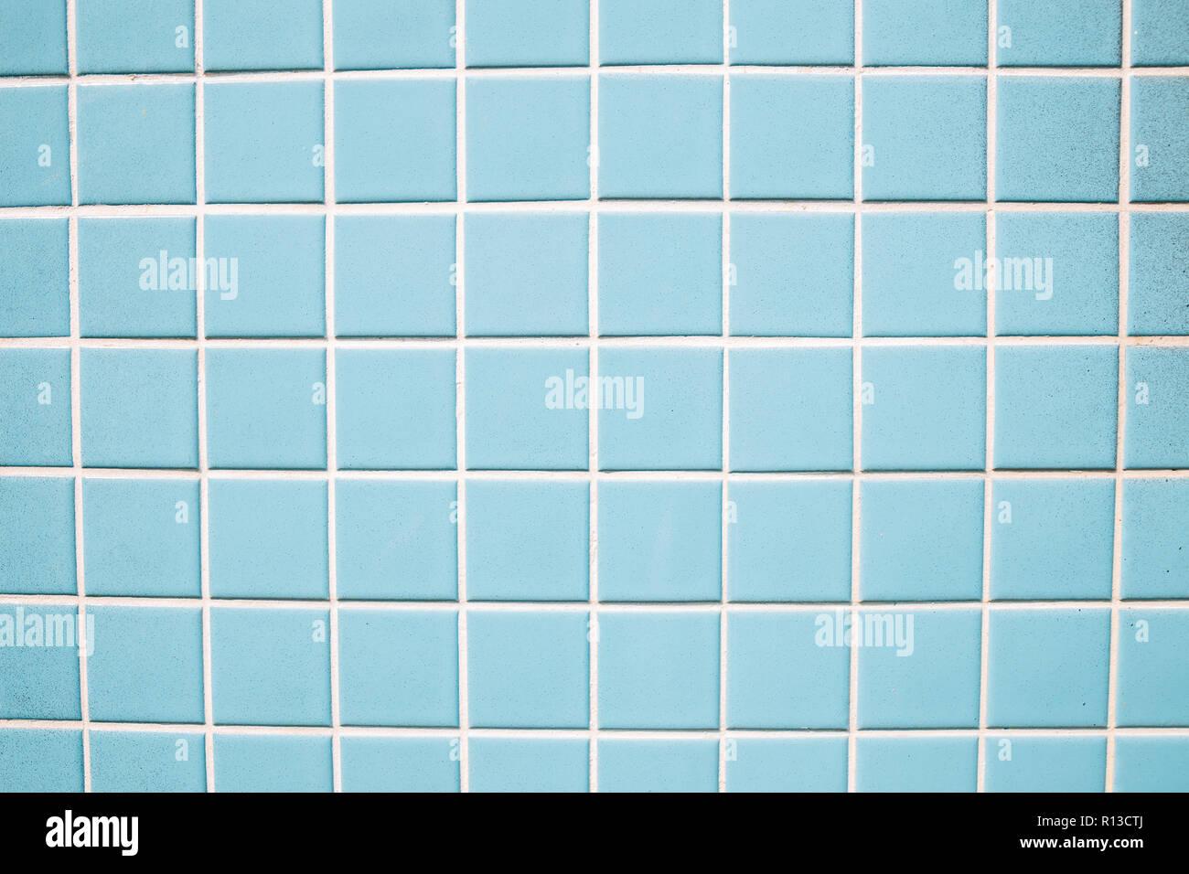 Hellblau Fliesen Wand Textur Hintergrund Stockfoto Bild 224425394