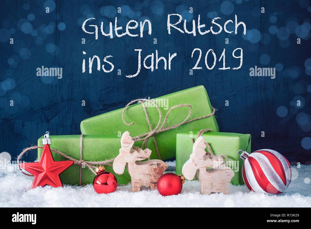 Weihnachten Geschenke 2019.Grüne Weihnachten Geschenke Guten Rutsch Ins Jahr 2019 Frohes